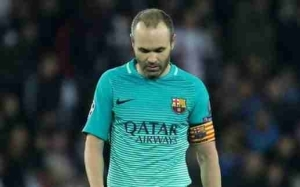 Barcelona Honour Their Legend Iniesta After Playing Last Game For Club